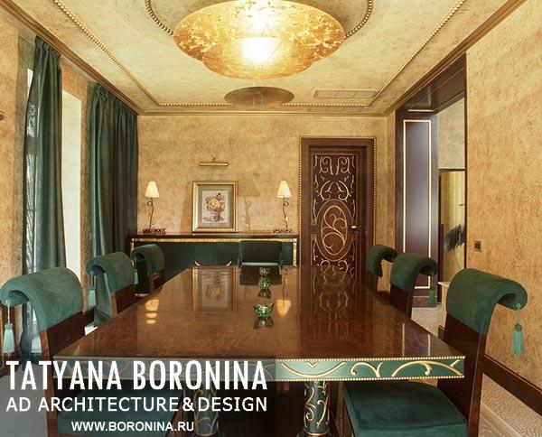 Дизайн интерьера загородного дома или коттеджа