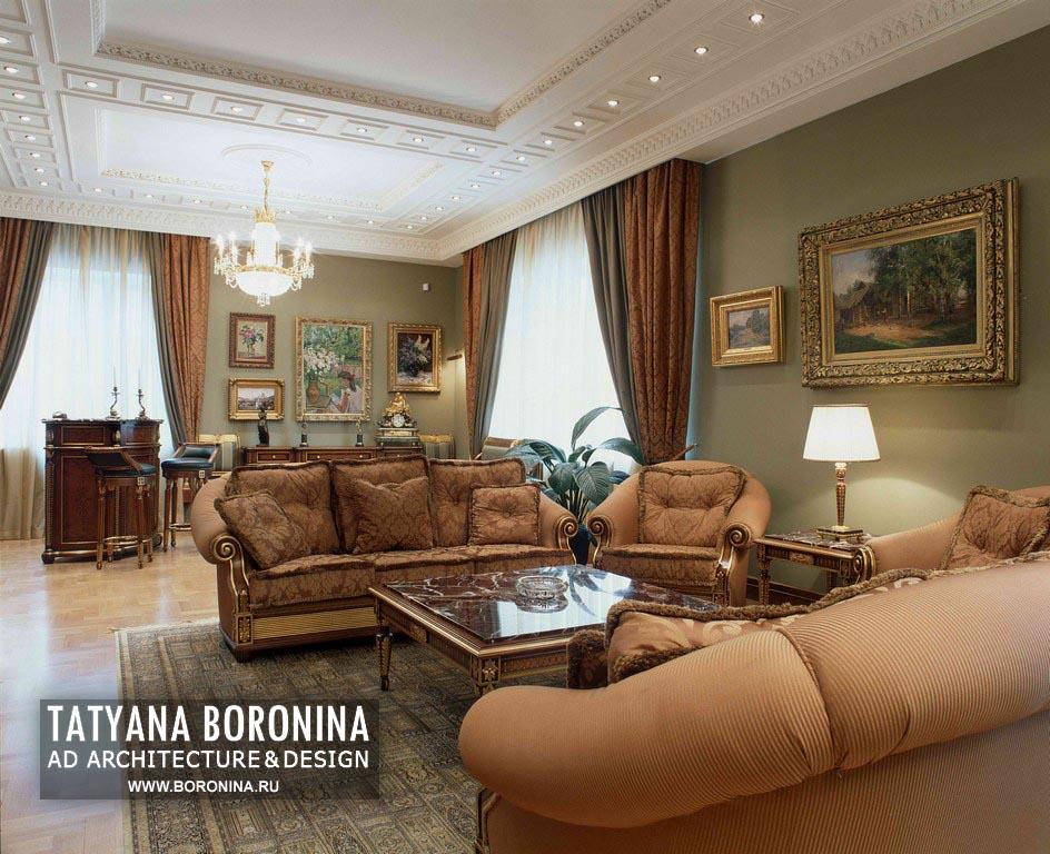 Дворцовый и классический дизайн